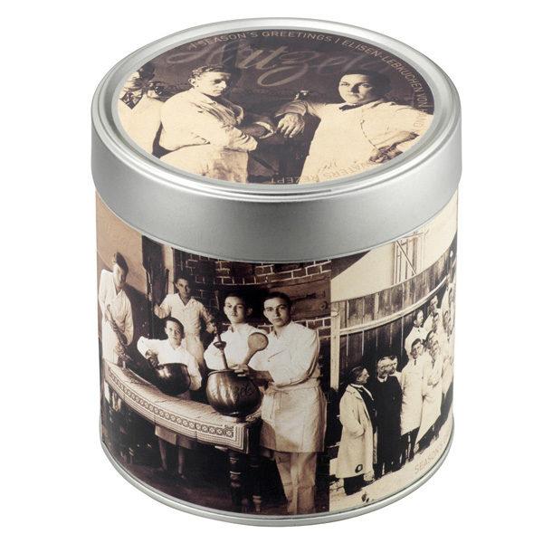 Geschenkdose mit 6 Elisen-Lebkuchen, gemischt