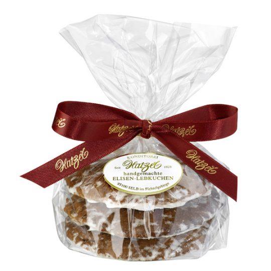 3 Elisen-Lebkuchen, Zuckerglasur